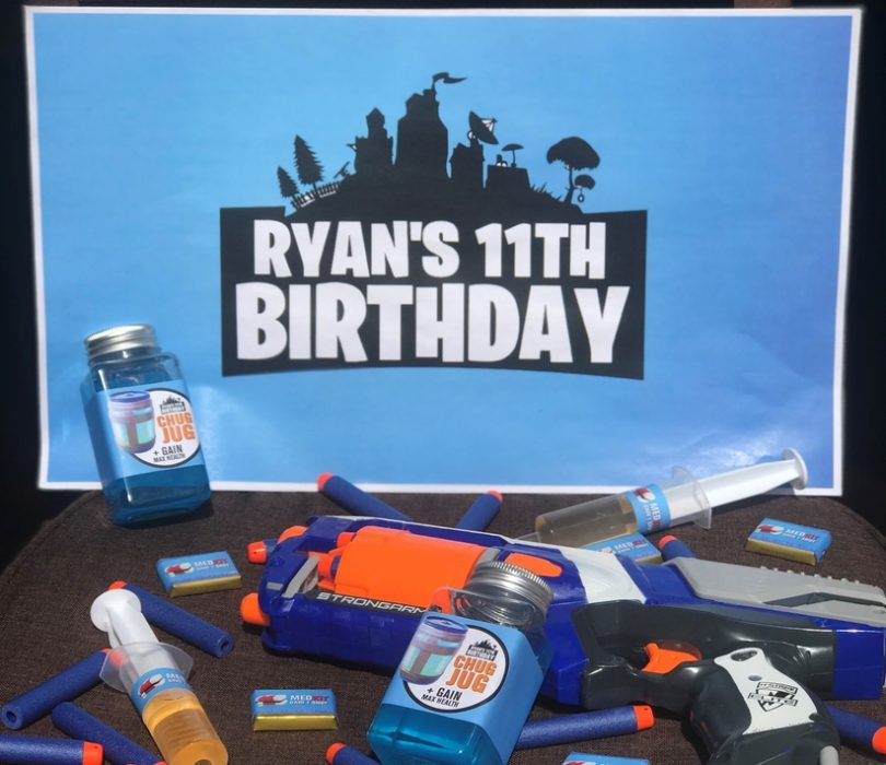 picture relating to Fortnite Printable Images identified as How toward host your individual Fortnite Birthday Get together!! (cost-free